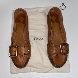 CHLOE leather shoes